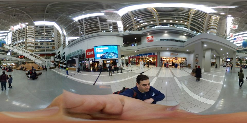 360-degree photo of the CNN Center in Atlanta